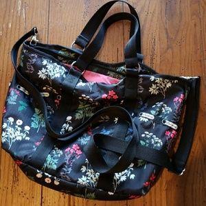 Lesportsac crossbody flower purse